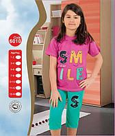 Пижама для девочки Лето Турция 7-8, 9-10, 11-12, 13-14 лет