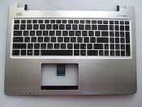 Клавиатура для ноутбуков Asus  K56CA (S56CA), K56CM (S56CM, R505CM), K56CB черная RU/US в сборе: черная крышка, клавиатура
