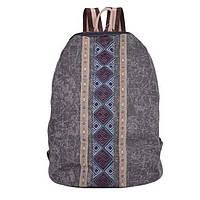 Брезентовый городской рюкзак этнический