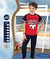 Пижама для мальчика Лето Турция 7-8, 9-10, 11-12, 13-14 лет