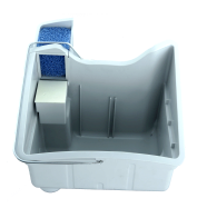 Резервуар аквафильтра + поплавок + фильтр кубик для пылесоса Thomas Twin 118017
