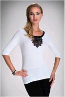 Блузка, кофточка женская светлая Eldar ESTELA  2017 офисная деловая одежда