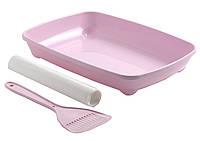 Туалет Moderna Arist-O-Tray для котят+лопатка и пакеты, 27.9х37х6.2 см