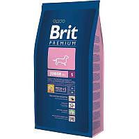 Brit Premium Junior S для щенков и молодых собак маленьких пород, 8 кг.