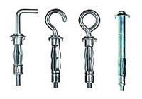 Дюбель металлический для пустотелых конструкций тип «MOLLY»