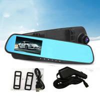 Автомобильный видеорегистратор DVR 138 E в виде зеркала заднего вида (без камеры заднего вида)