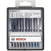 Набор пильных полотен Bosch Robust Line 10 шт