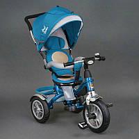 Велосипед 3-х колёсный 5688 Best Trike (1) ГОЛУБОЙ, надувные колёса