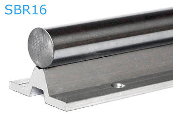 Валы на опоре SBR16 (SA16)