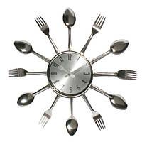 Часы настенные Ложки вилки средние