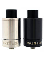 Атомайзер Фараон Dijiflavor Pharaoh 25 Dripper Tank: 2 мл, 25х45,5 мм, чёрныйaraoh-25-dripper-tank-blacksilver