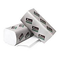 Полотенца бумажные V Natural белые 2-шар 160шт Eco Point