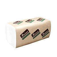 Полотенца бумажные V Standart белые 2-шар 160шт Eco Point