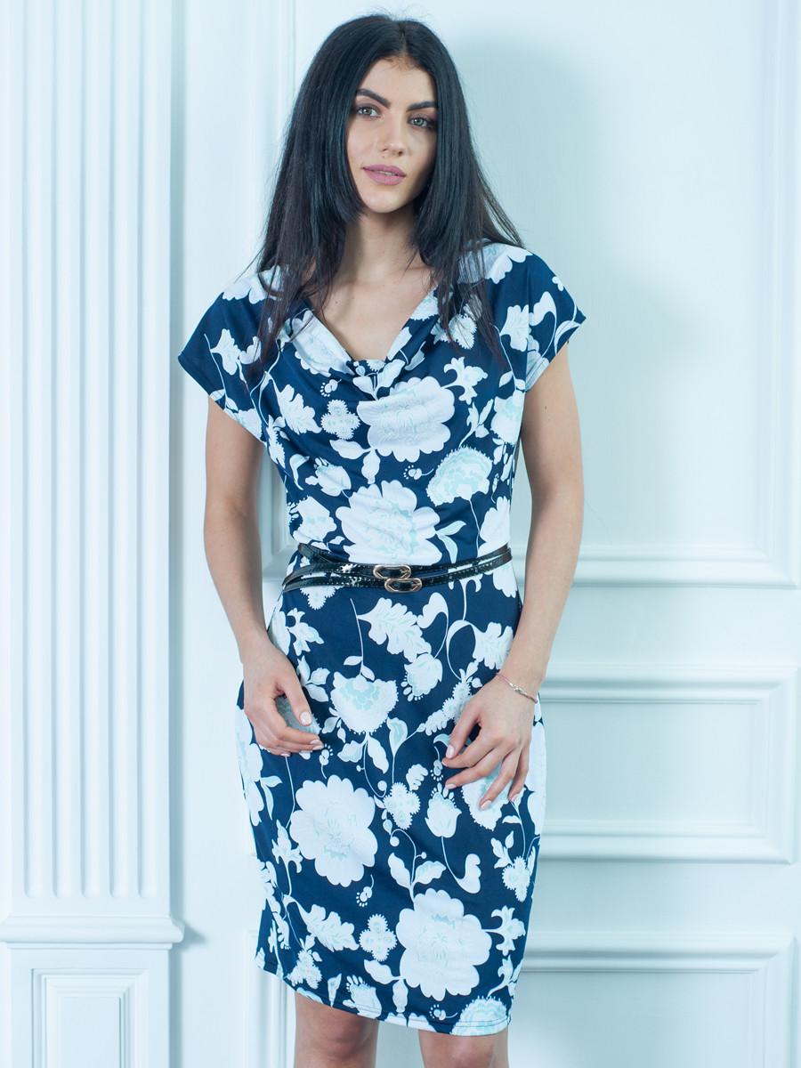 Отличное летнее платье с поясом