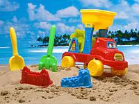 Песочный набор 5 предметов в сетке