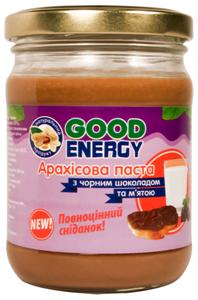 Арахисовая паста з белым шоколадом, 460 г (Good Energy)
