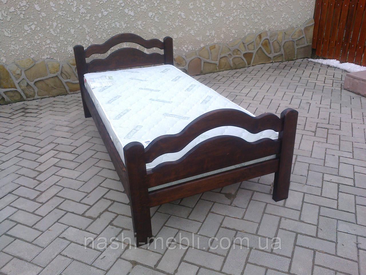Одоспальне ліжко Ясен Багет 4
