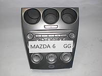 Б.У. Блок управления климат контролем Mazda 6 GG 2003-2007 Б/У