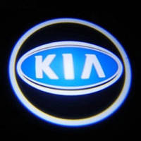 Лазерная проекция логотипа KIA 100