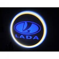 Лазерная проекция логотипа LADA 245