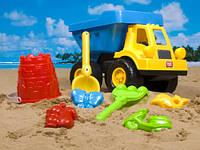Песочный набор 8 предметов в сетке