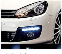 Универсальные светодиодные дневные ходовые огни DRL DR2-030 (8-LED Daytime Running Light 12 V)