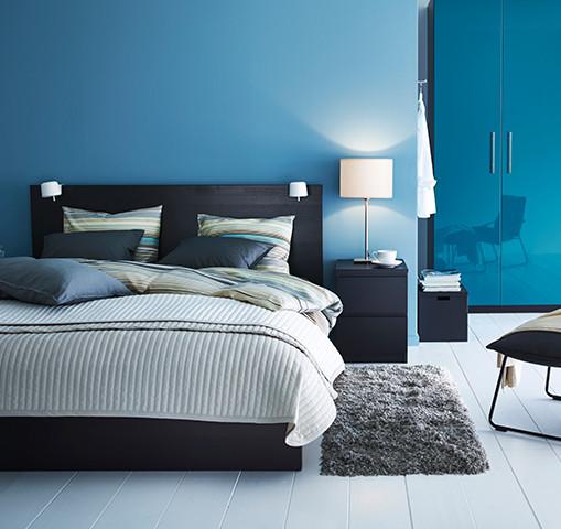 Двуспальные кровати IKEA
