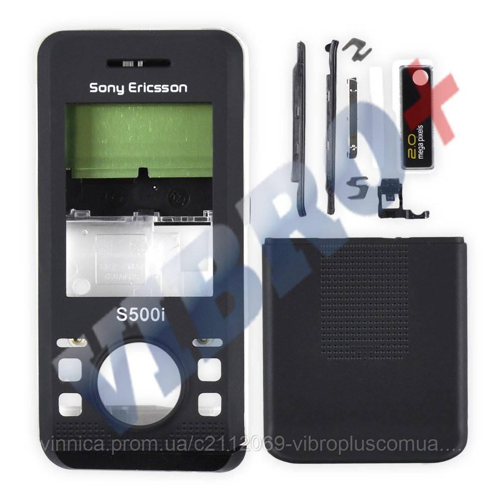 Корпус Sony Ericsson S500i, цвет черный