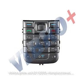 Клавиатура Nokia 6233, цвет серебряный