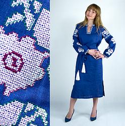Плаття вишиванка - Квіти Барвисті