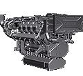 Двигатель Deutz 2015 M 2015 M водяное охлаждение, 210 - 500 кВт / 282 - 671 л.с.
