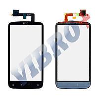 Тачскрин для HTC Sensation Z710e, G14, цвет черный, большая микросхема