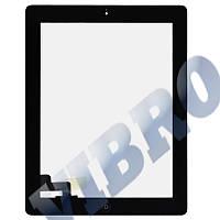 Тачскрин (сенсор) со стеклом и рамкой для iPad 2, цвет черный
