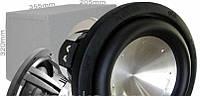 Сабвуфер в машину BM Boschmann BOZ-10ZF для HI-FI компонентной системы, с пиковой выходной мощностью 700В