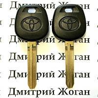 Ключ для Toyota (Тойота) с чипом 4C, лезвие TOY43