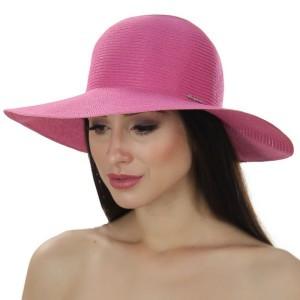 Женская  летняя шляпа   Цвет малиновый