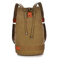 Брезентовый рюкзак мешок для города