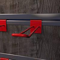 Крючки подвесные на эконом панель