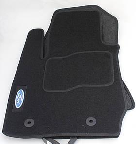 Коврики в салон текстильные Ford EcoSport 2012- материал Ciak черн. вышивка (5шт/комп)