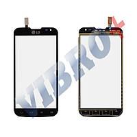 Тачскрин (сенсор) LG D410 Optimus L90, цвет черный