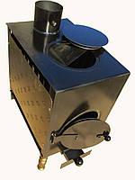 Печка-буржуйка отопительно-варочная с конфоркой