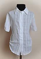 Рубашка для девочек, белая, фото 1