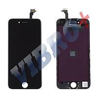 Дисплей iPhone 6 (4.7) с тачскрином в сборе (цвет черный), ТЕСТ ОК