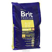 Brit Premium Junior M для щенков и молодых собак средних пород, 1 кг.