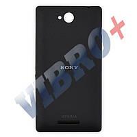 Задняя крышка Sony Xperia C C2305, цвет черный