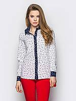 Блуза 442 зиг заг
