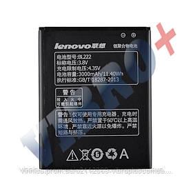 Аккумулятор для Lenovo S660 (BL222), емкость 3000 мАч, напряжение 3,8 В