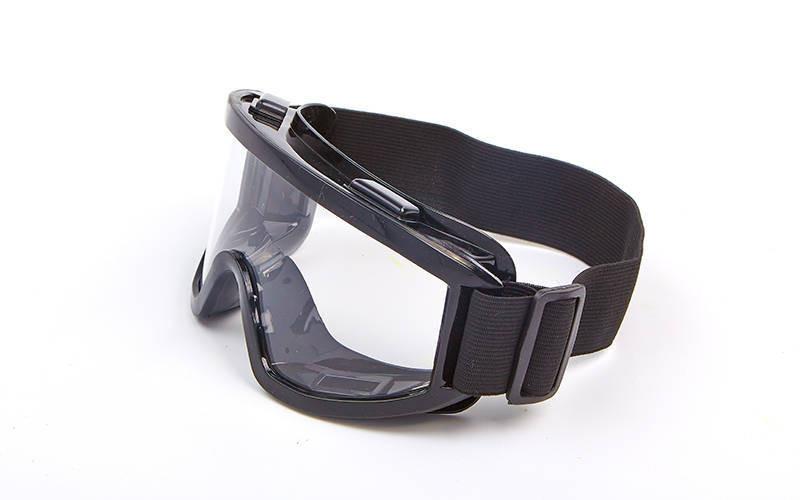 Мотоочки, очки тактические MS-908 (пластик, акрил, цвет оправы - черный, прозрачные линзы) - Интернет-магазин Sport2012 в Днепре