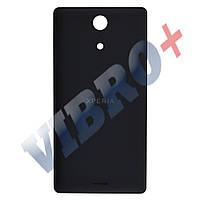 Задняя крышка Sony Xperia ZR C5502 (M36i), цвет черный