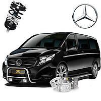 Автобаферы ТТС для Mercedes-Benz Vito (2 штуки)